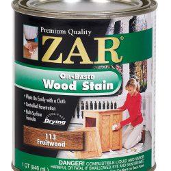 ZAR Oil Based Wood Stain Fruitwood 11344-0