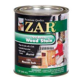 ZAR Oil Based Wood Stain Moorish Teak 12123-0