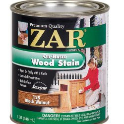 ZAR Oil Based Wood Stain Black Walnut 12125-0