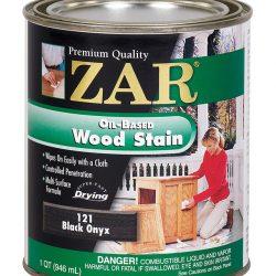 ZAR Oil Based Wood Stain Black Onyx 12112-0