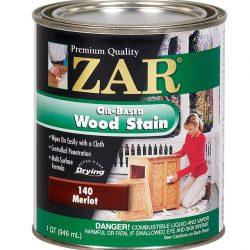 ZAR Oil Based Wood Stain Merlot 14012-0
