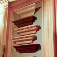 Various styles crown moulding