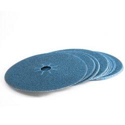 "7"" x 7/8"" Zirconium Edger Disc 120 grit-0"