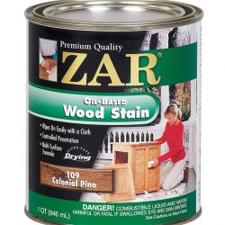ZAR Oil Based Wood Stain Colonial Pine-10912-0