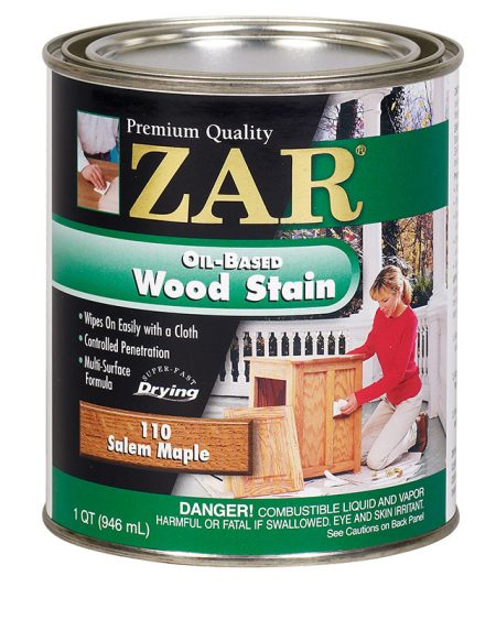 ZAR Oil Based Wood Stain Salem Maple 11012-0