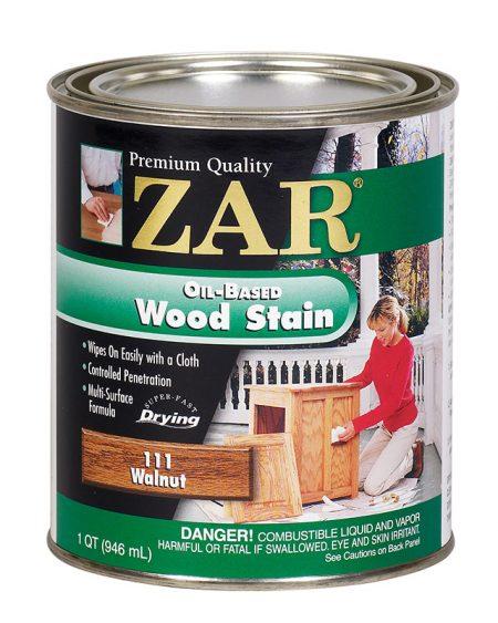 ZAR Oil Based Wood Stain Walnut 11112-0