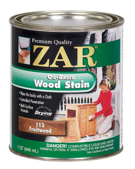 ZAR Oil Based Wood Stain Fruitwood 11344-0