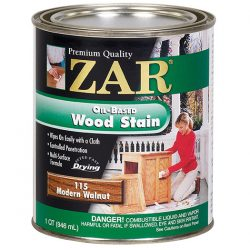 ZAR Oil Based Wood Stain Modern Walnut 11512-0