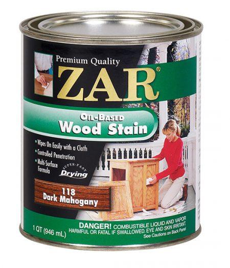 ZAR Oil Based Wood Stain Dark Mahogany 11812-0