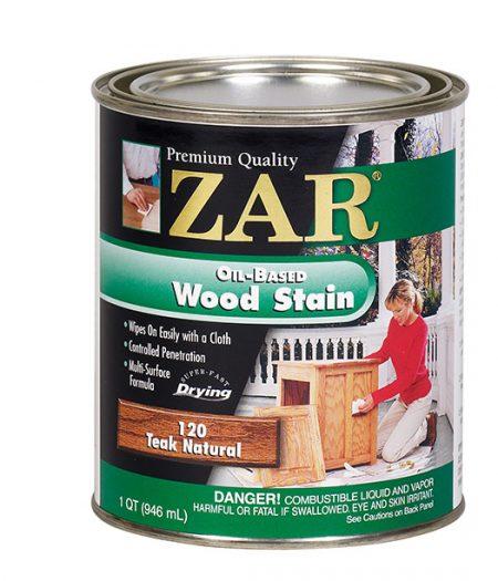 ZAR Oil Based Wood Stain Teak Natural 12012-0