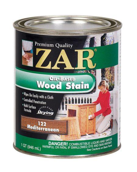 ZAR Oil Based Wood Stain Mediterranean 12122-0