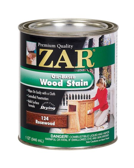 ZAR Oil Based Wood Stain Rosewood 12124-0