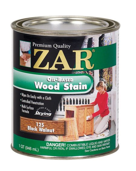 ZAR Oil Based Wood Stain Black Walnut 12125-0