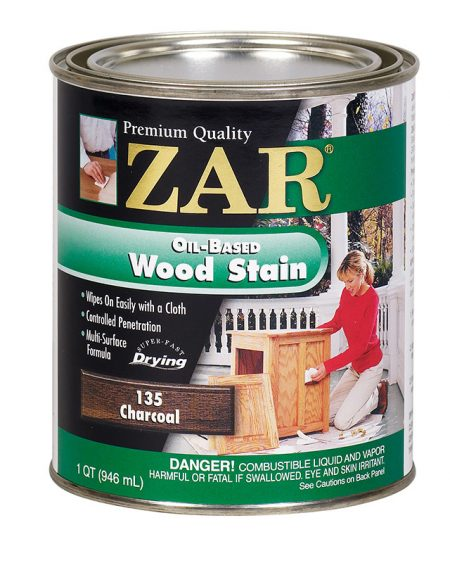 ZAR Oil Based Wood Stain Charcoal 12135-0