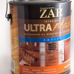 ZAR® Ultra Max Interior Waterborne Oil Modified Polyurethane Satin-0