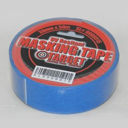"Blue Masking Tape UV Resistant 1.5"" x 164'-0"