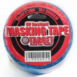 "Blue Masking Tape UV Resistant 2"" x 164'-0"